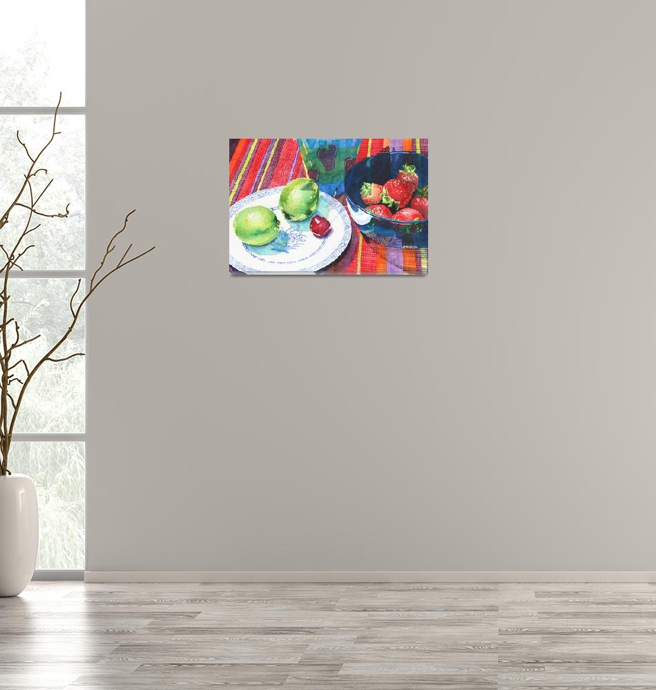 """Limes, Berry, Bing""  (2013) by KristinWebster"