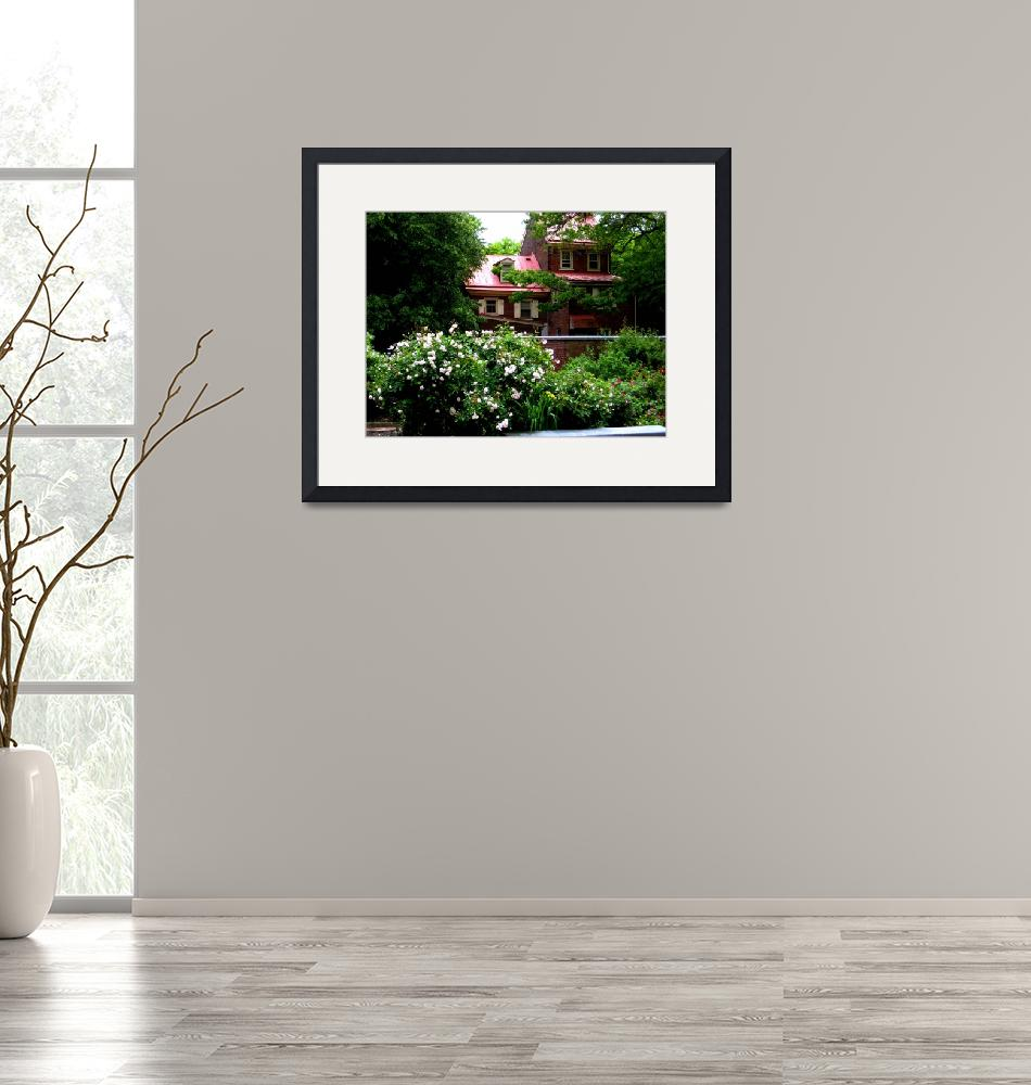 """""""Histoic House with Garden in Philadelphia""""  (2009) by PhillyandMe"""