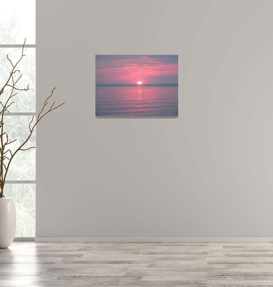 """Digital Sun Set, Dee Oberle""  (2006) by GypsyChicksPhotography"