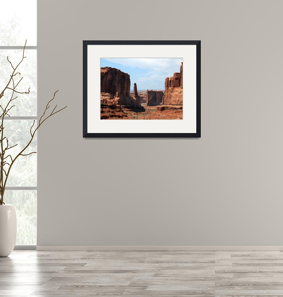 """""""Arches National Monument""""  (2012) by FJ_Photography"""