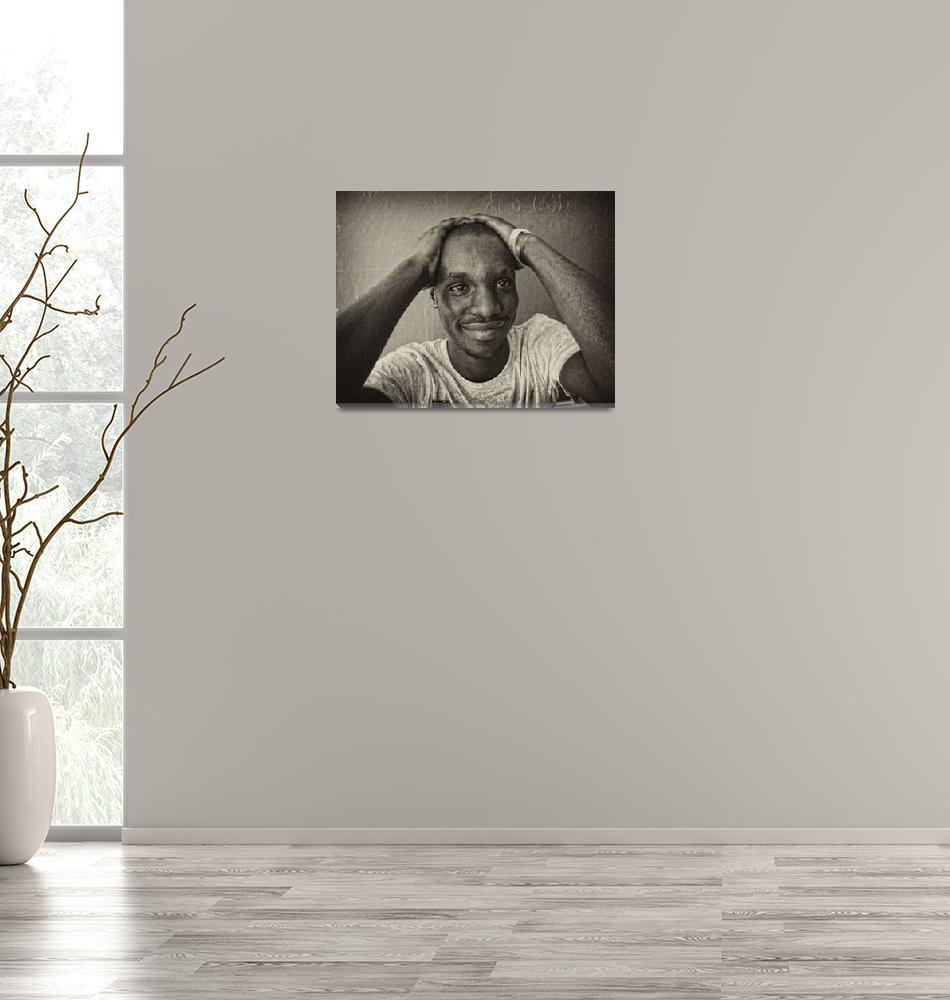 """A student from Nigeria.""  (2010) by Prokopchenko"