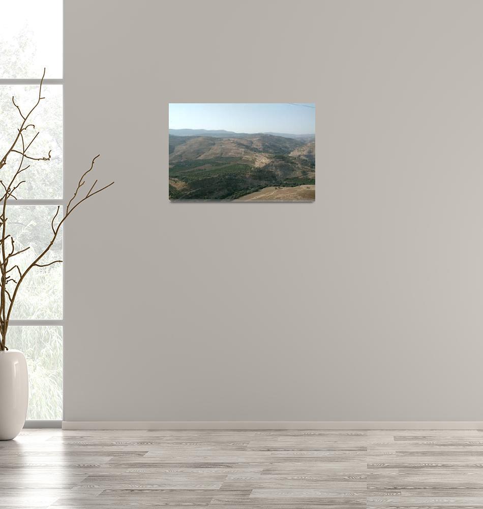 """""""Jordan Mountains View""""  (2007) by JoaoPonces"""