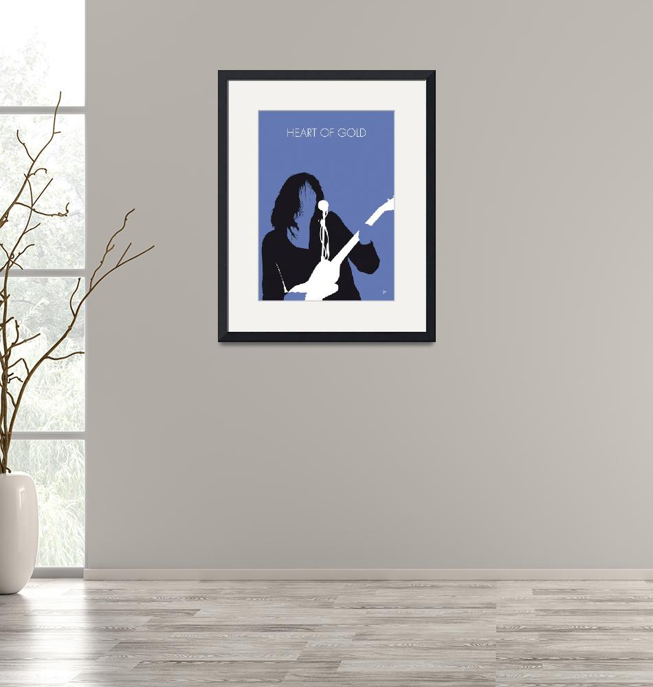 """""""No128 MY Neil Young Minimal Music poster""""  by Chungkong"""