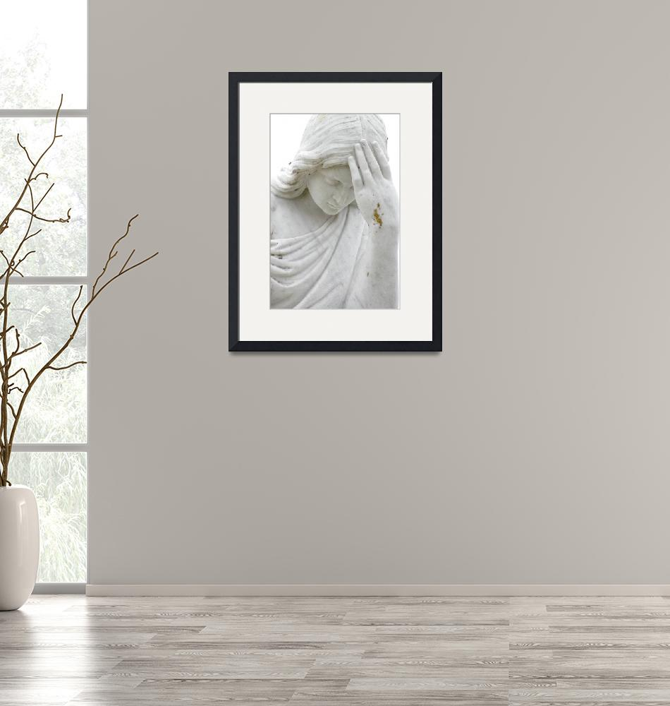 """""""Marble Angel""""  (2008) by KattSnapsPhotography"""