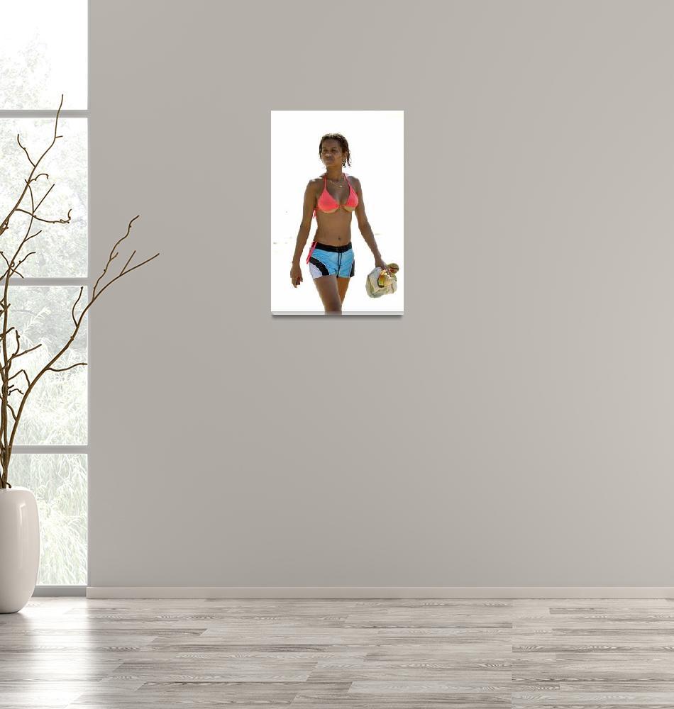 """Bikini too Small?""  (2002) by JoaoPonces"