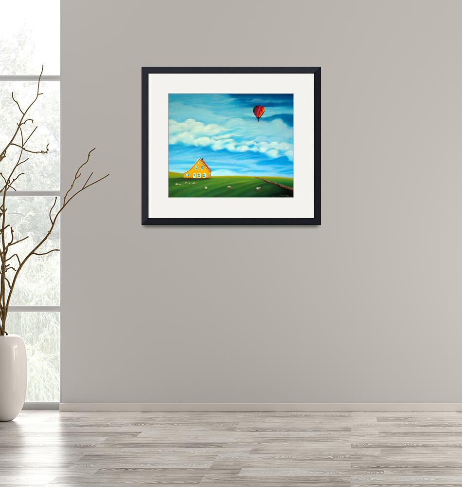 """""""Up, Up and Away""""  (2014) by MaureenArt"""