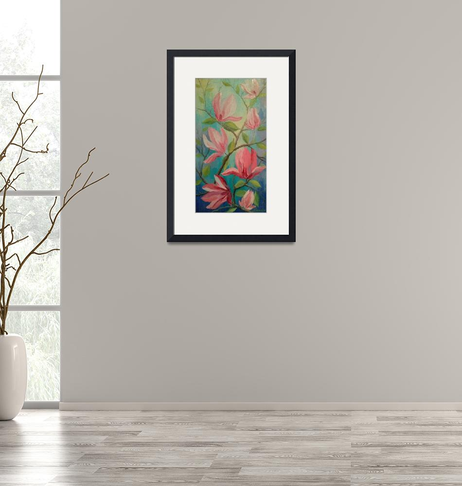 """""""magnolia,""""  (2015) by OlhaDarchuk"""