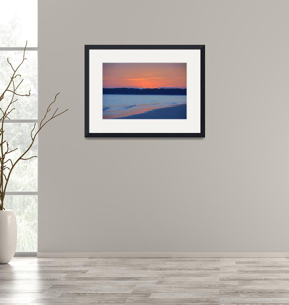"""""""Sunset on Tower Beach""""  (2019) by alex1230"""