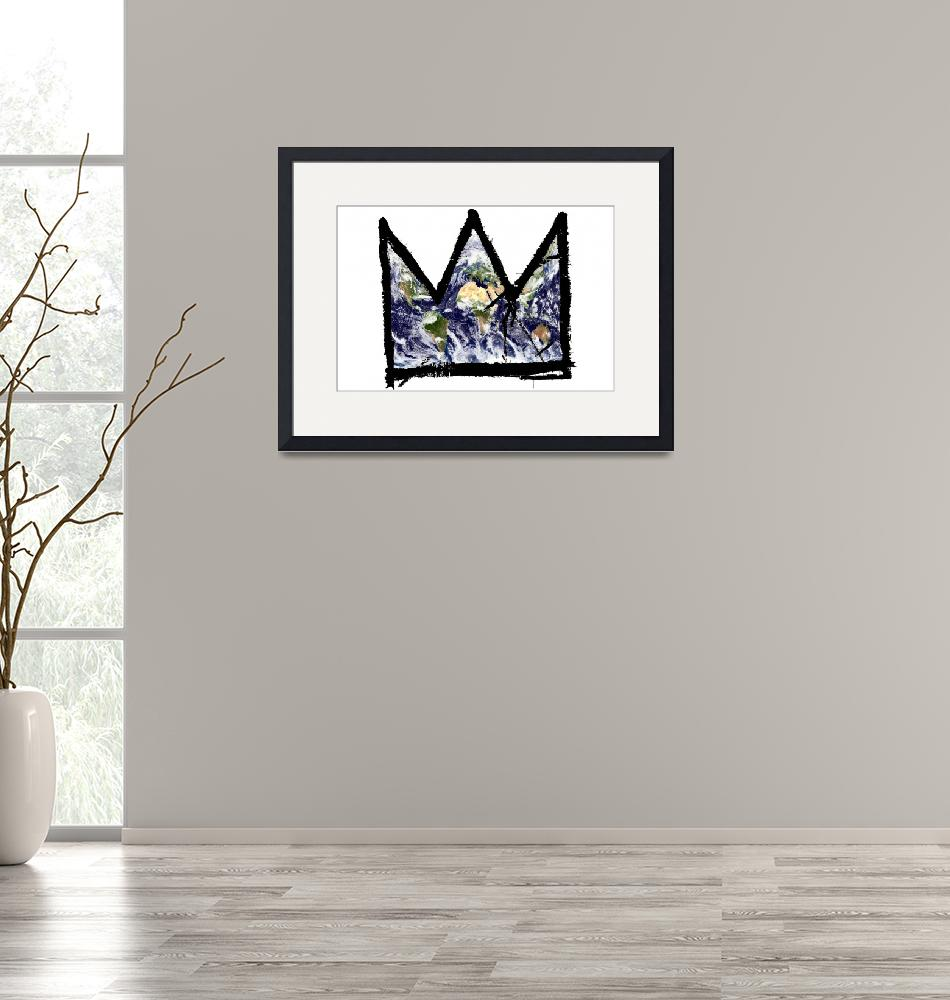"""""""Basquiat, """"King of The world""""""""  (2013) by O"""