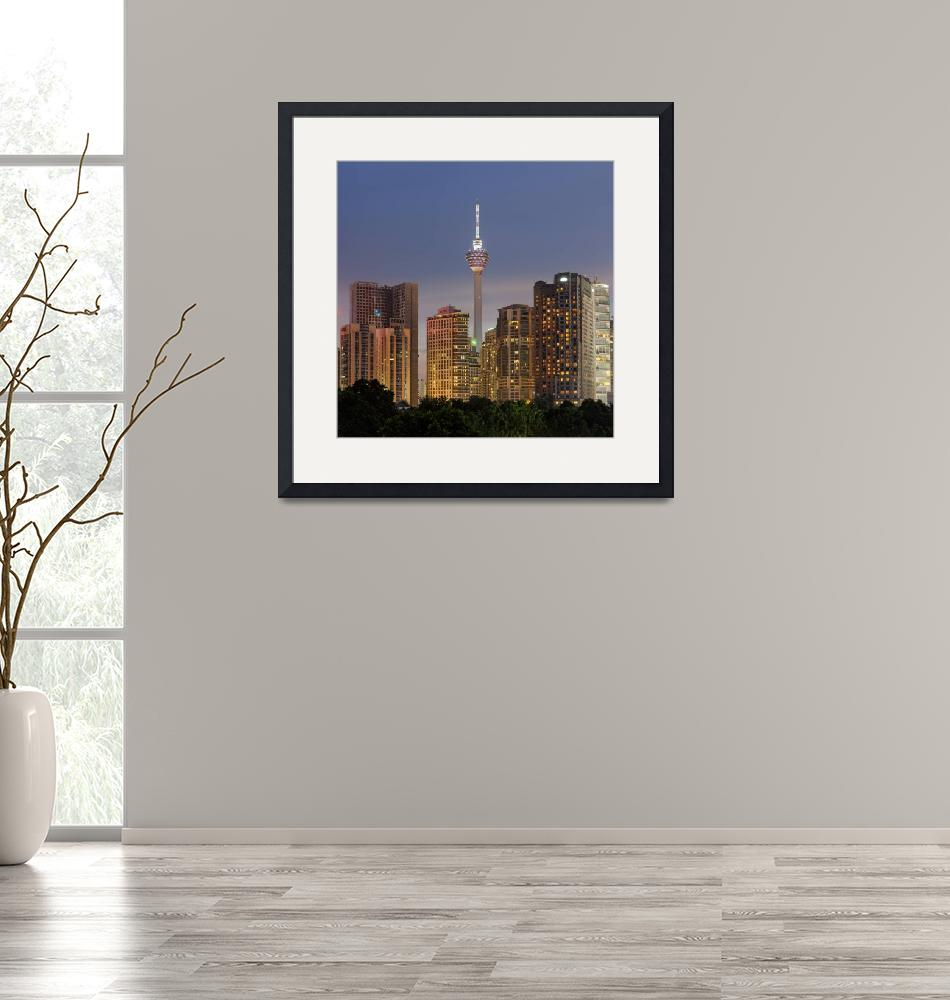 """""""The Kuala Lumpur Tower"""" (2013) by vedd"""