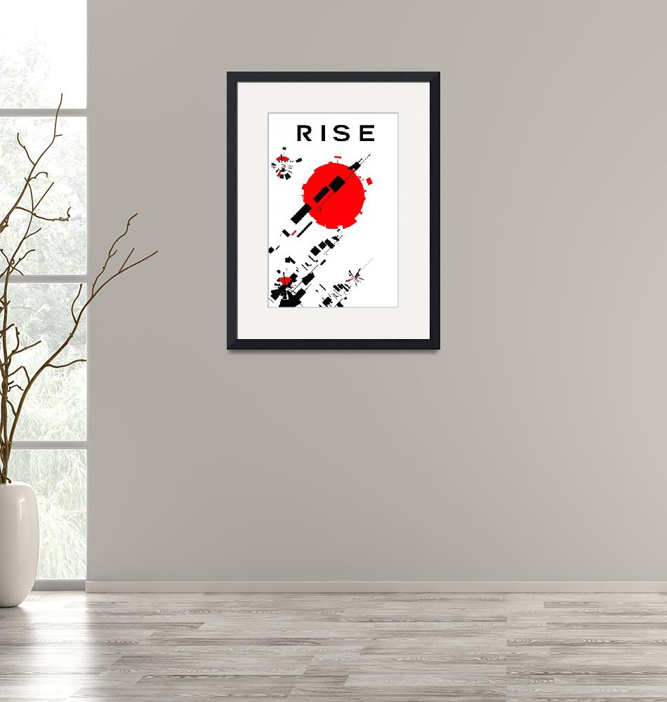 """""""rise""""  (2009) by joemaguiredesign"""