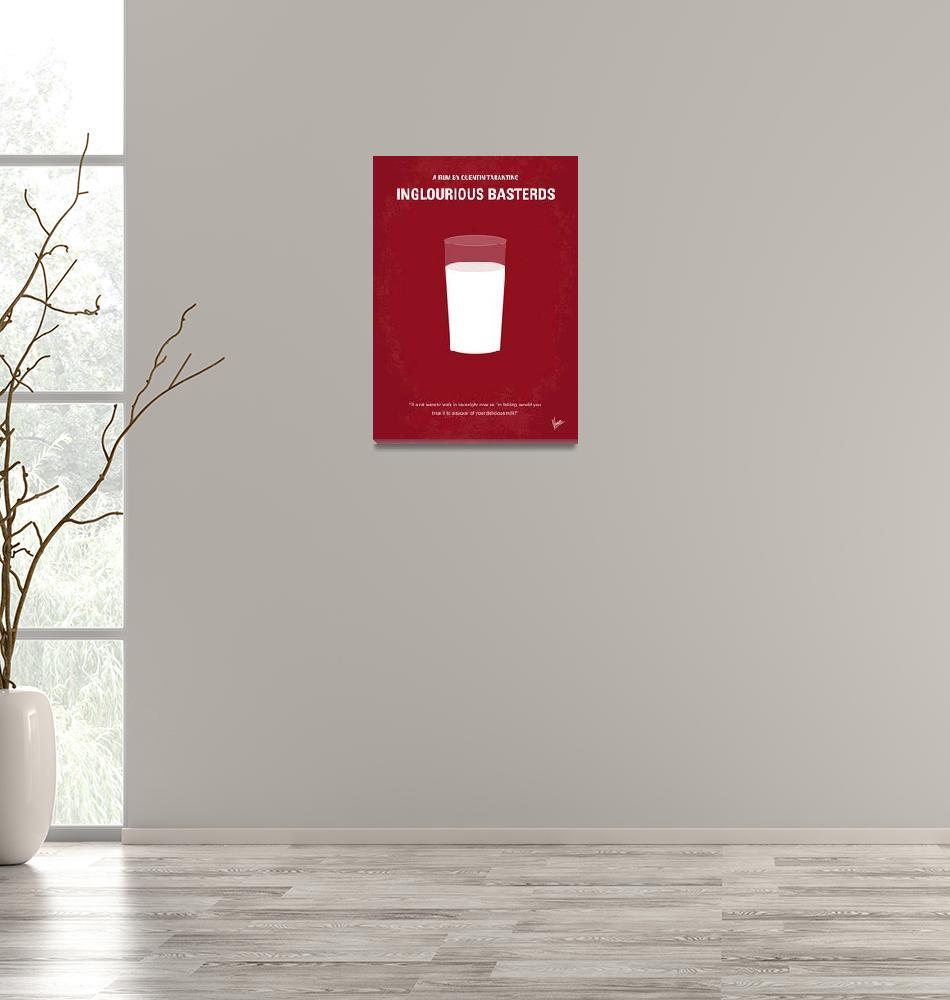 """No138 My Inglourious Basterds minimal movie poster""  by Chungkong"
