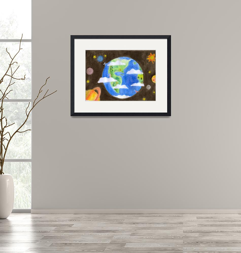 """""""MyWorld""""  (2008) by AireenDeviani"""