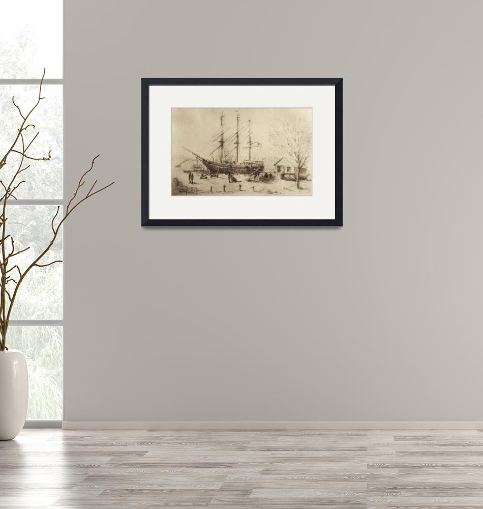 """""""Whaling Ship Charles W. Morgan""""  (2007) by blaney"""