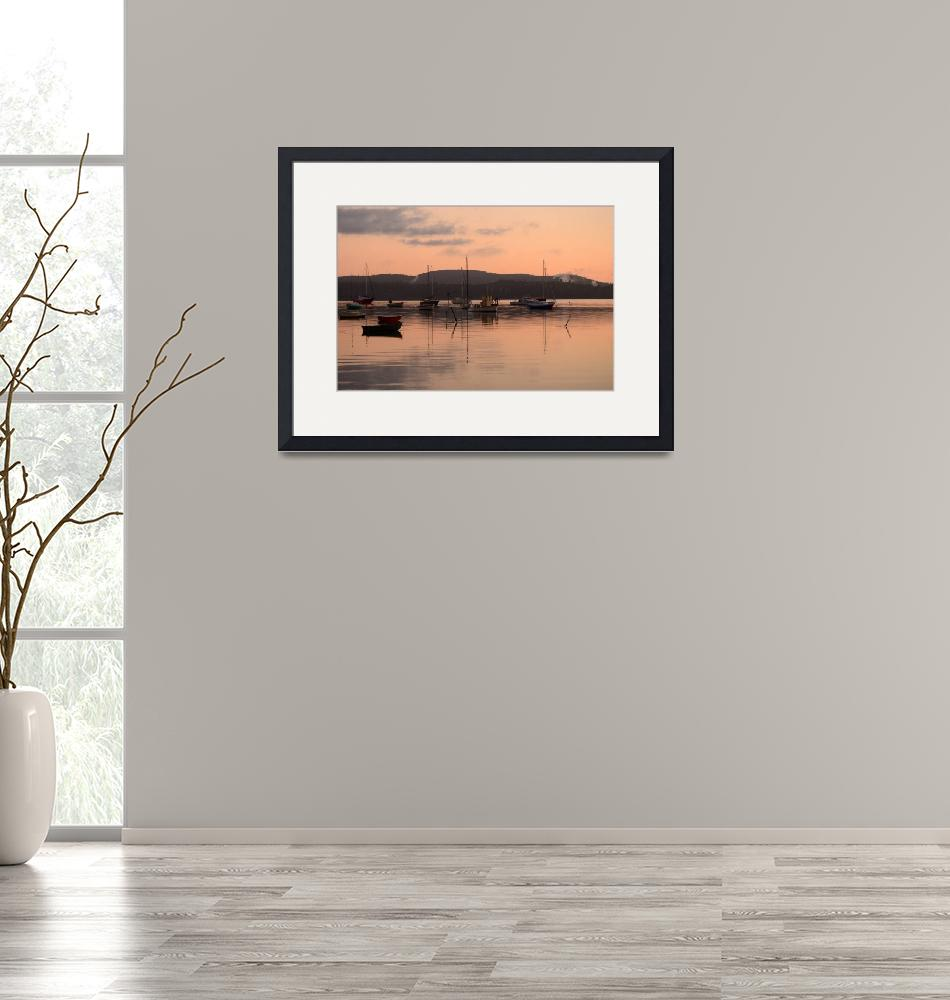 """""""Morning Over the River""""  by nauticalnancy"""