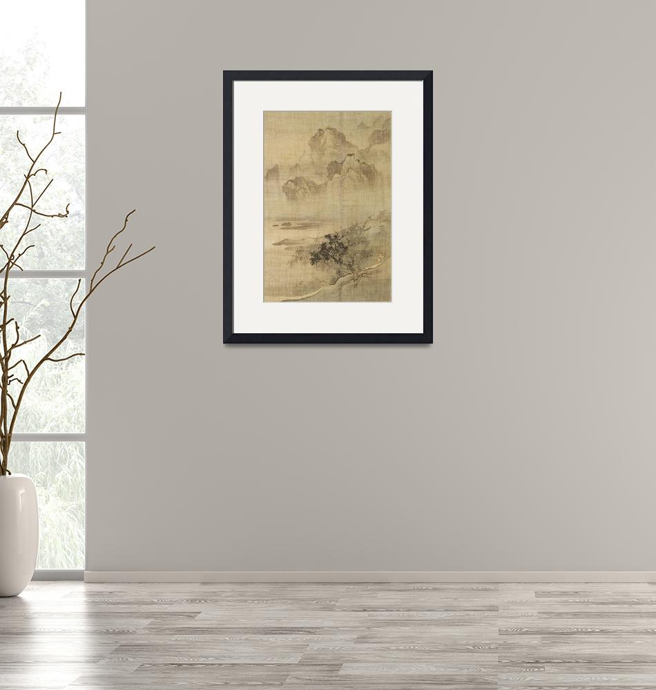 """""""Yi Ching [Yi Jing]~Landscape with a Gentleman Ridi""""  by Old_master"""