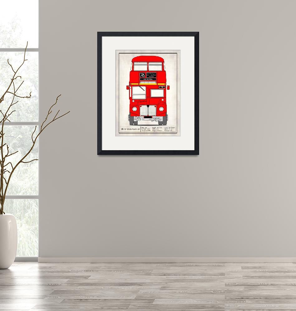 """The Routemaster London Bus""  by mark-rogan"