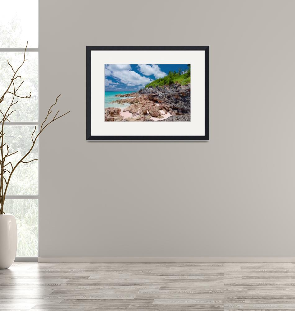 """""""Rocky Shore I""""  (2015) by PadgettGallery"""