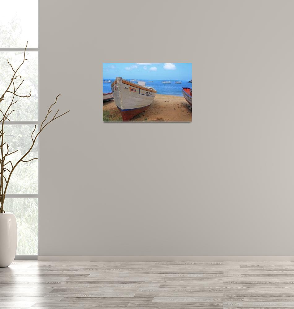 """""""Boat on the Beach""""  (2010) by robbdee40"""