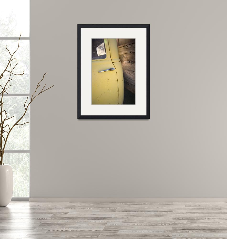 """""""Yellow and Wood Chevy""""  (2010) by"""