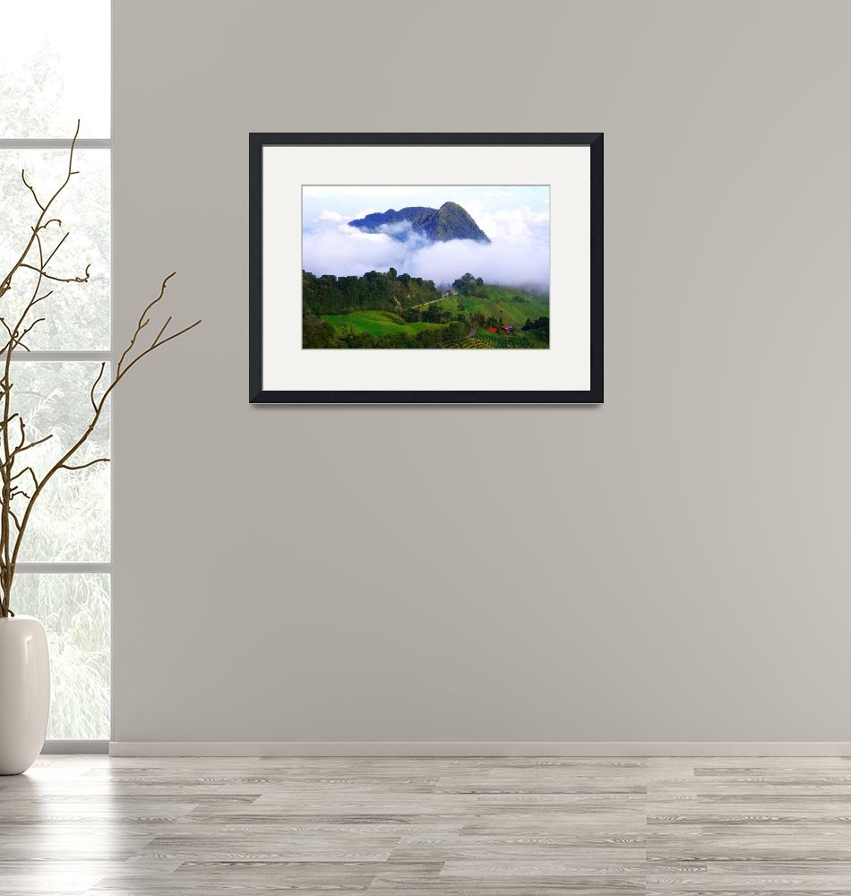 """""""The mountains of Colombia""""  (2015) by DanSteeves"""