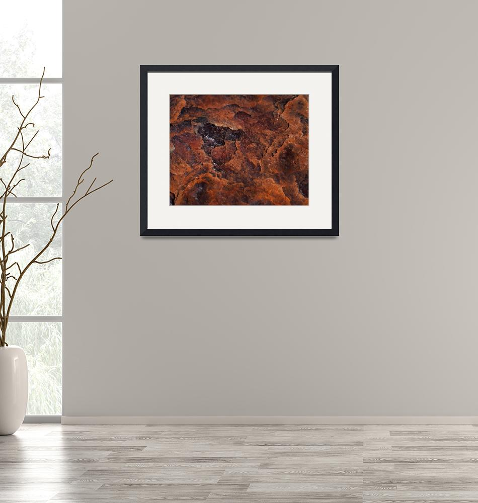 """""""Topography of Rust"""" (2013) by RonaBlack"""