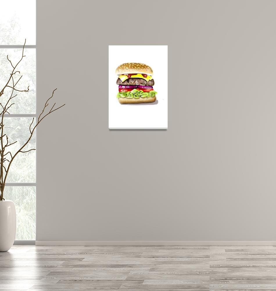 """""""Burger Me""""  (2014) by lincolnhowes"""