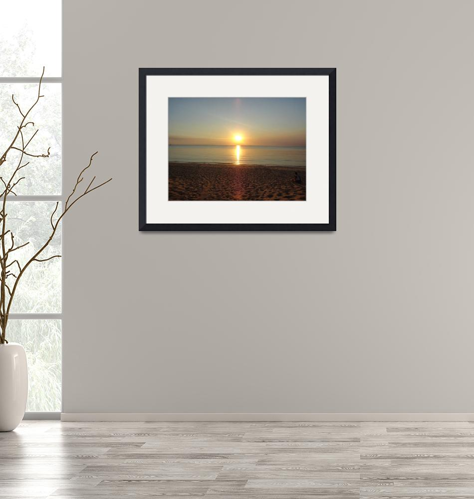 """""""Sunset at Mindil""""  (2012) by anneberrysmith"""