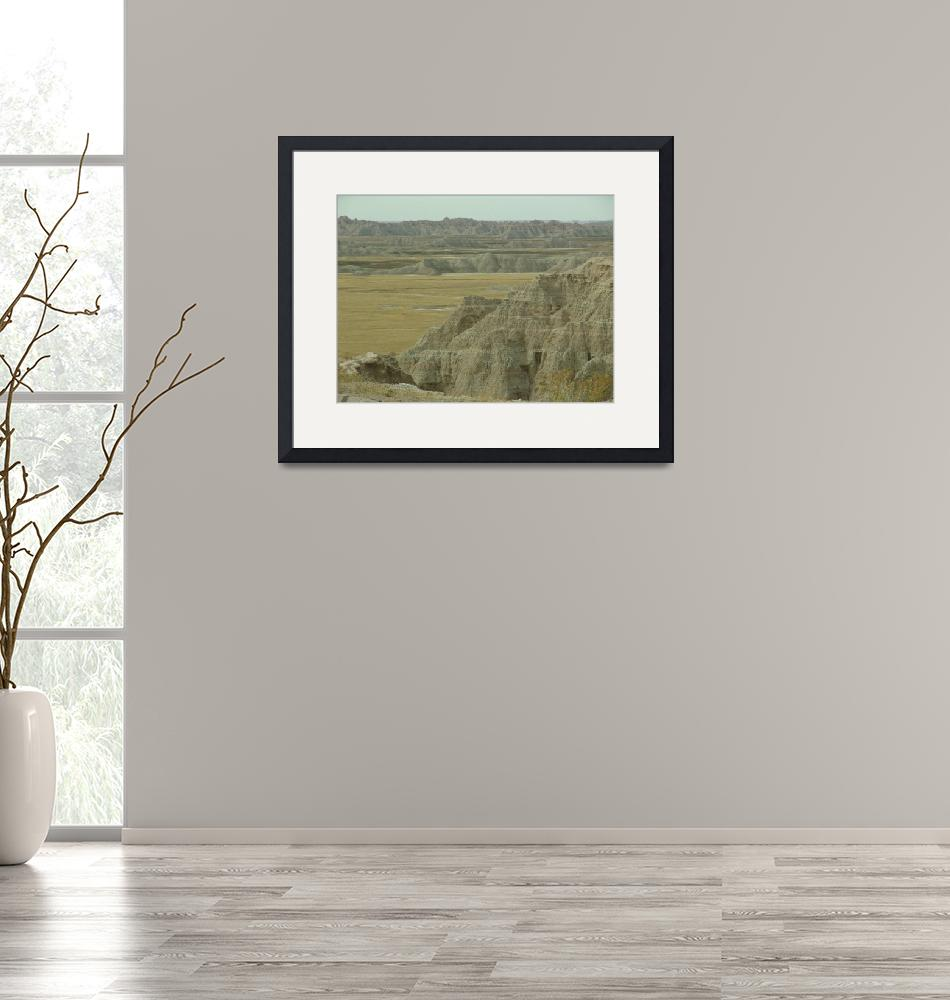 """""""Badlands Panorama""""  (2011) by TheElectricOrphanage"""