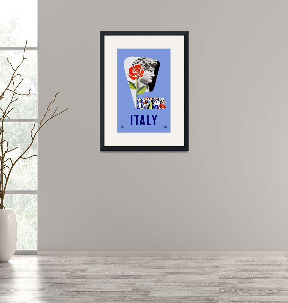"""""""Vintage Italy Travel""""  by PDGraphics"""