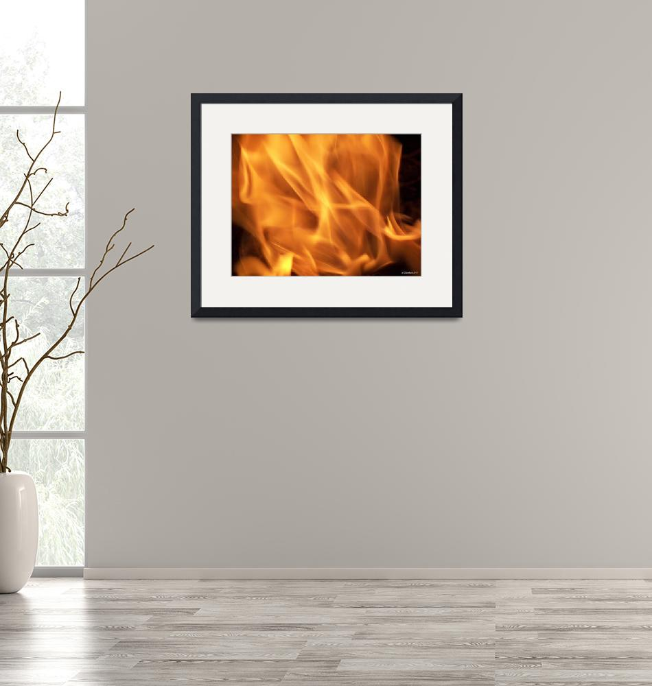 """""""Dancing With Fire""""  (2010) by bettynorthcutt"""