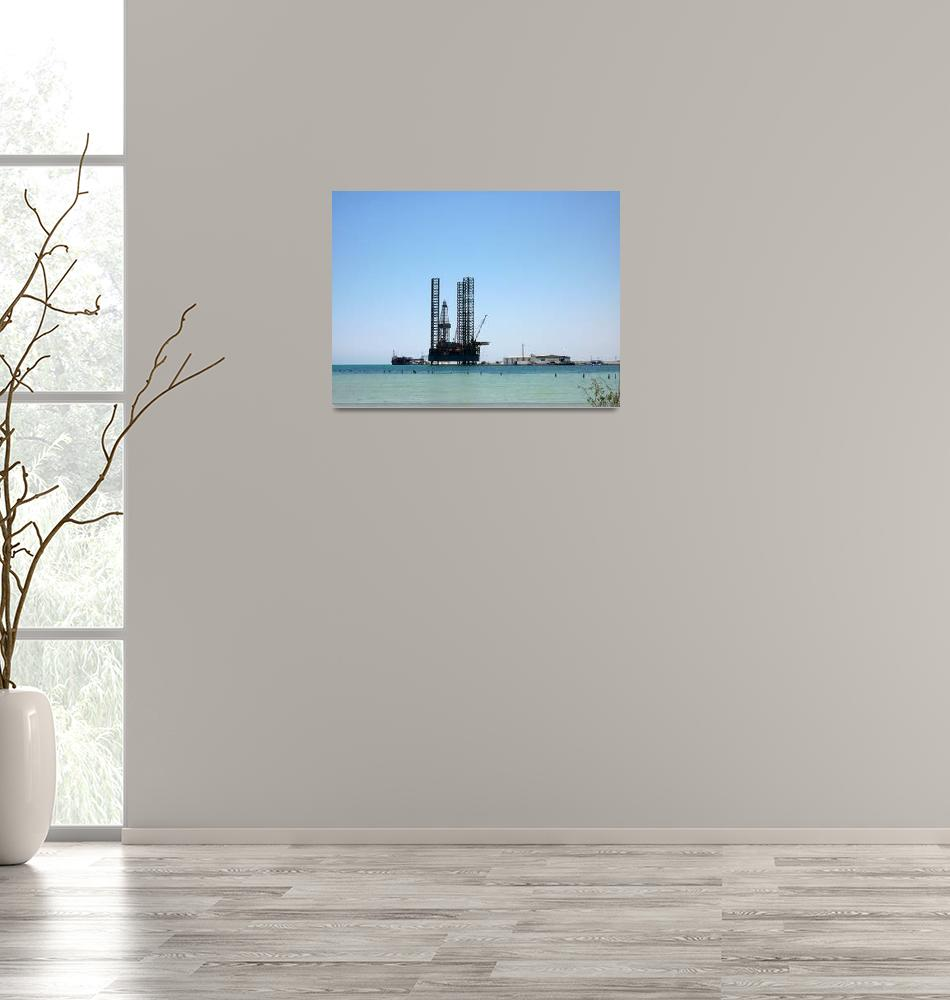 """""""Drilling Tower""""  (2010) by lridone"""