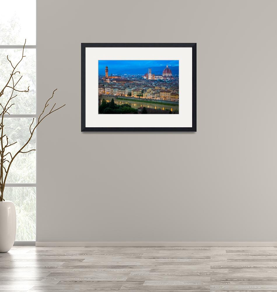 """""""Firenze By Night""""  (2013) by Inge-Johnsson"""