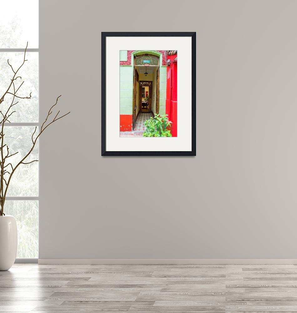 """Bolivian Doorway""  (2014) by WindmillFarms"