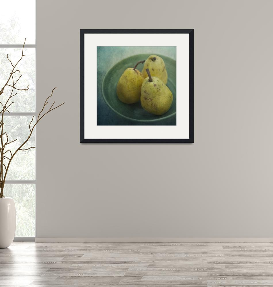 """""""pears in a square""""  by Piri"""