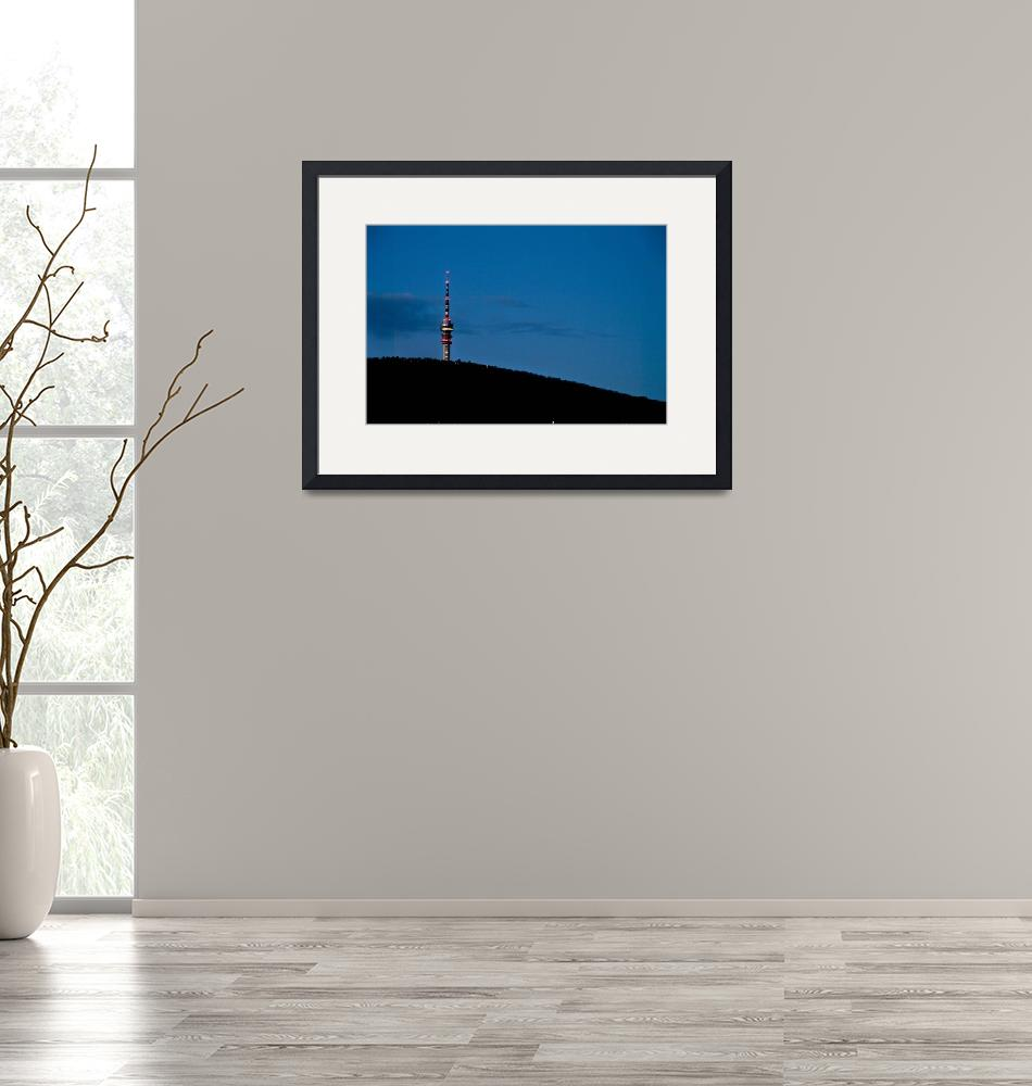 """""""Tv-Tower 2""""  (2010) by GaborSzabo"""