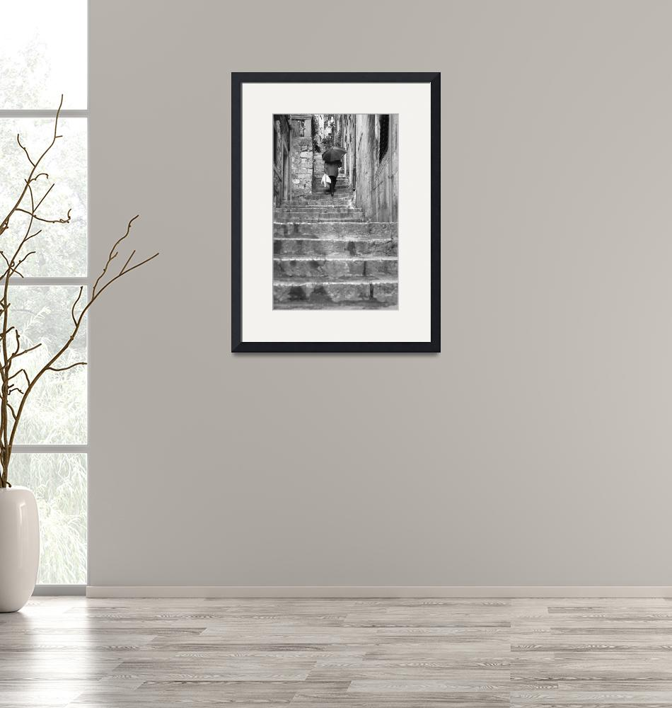 """""""Old Man and Steps""""  (2006) by MattParry"""
