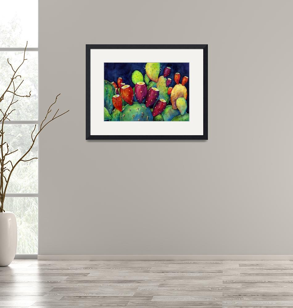 """""""Prickly Pear""""  (2013) by HaileyWatermedia"""
