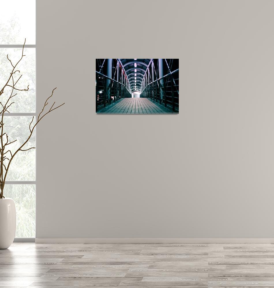 """Footbridge""  (2013) by davidkelsey_2000"