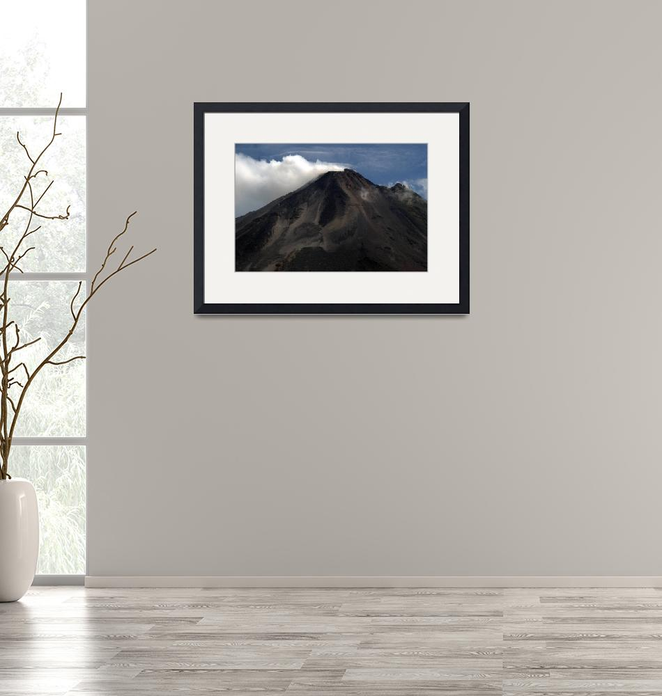 """""""Arenal Volcano""""  (2009) by Eileen"""