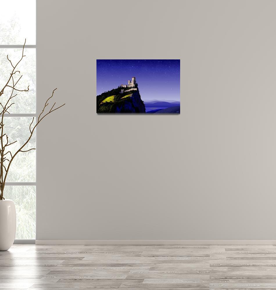 """San Marino Castle""  (2014) by tomcarlos"
