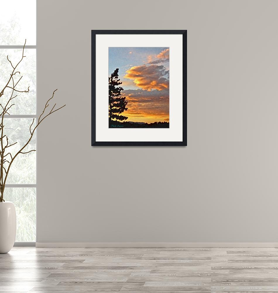 """""""Sunset #1"""" (2009) by marla"""