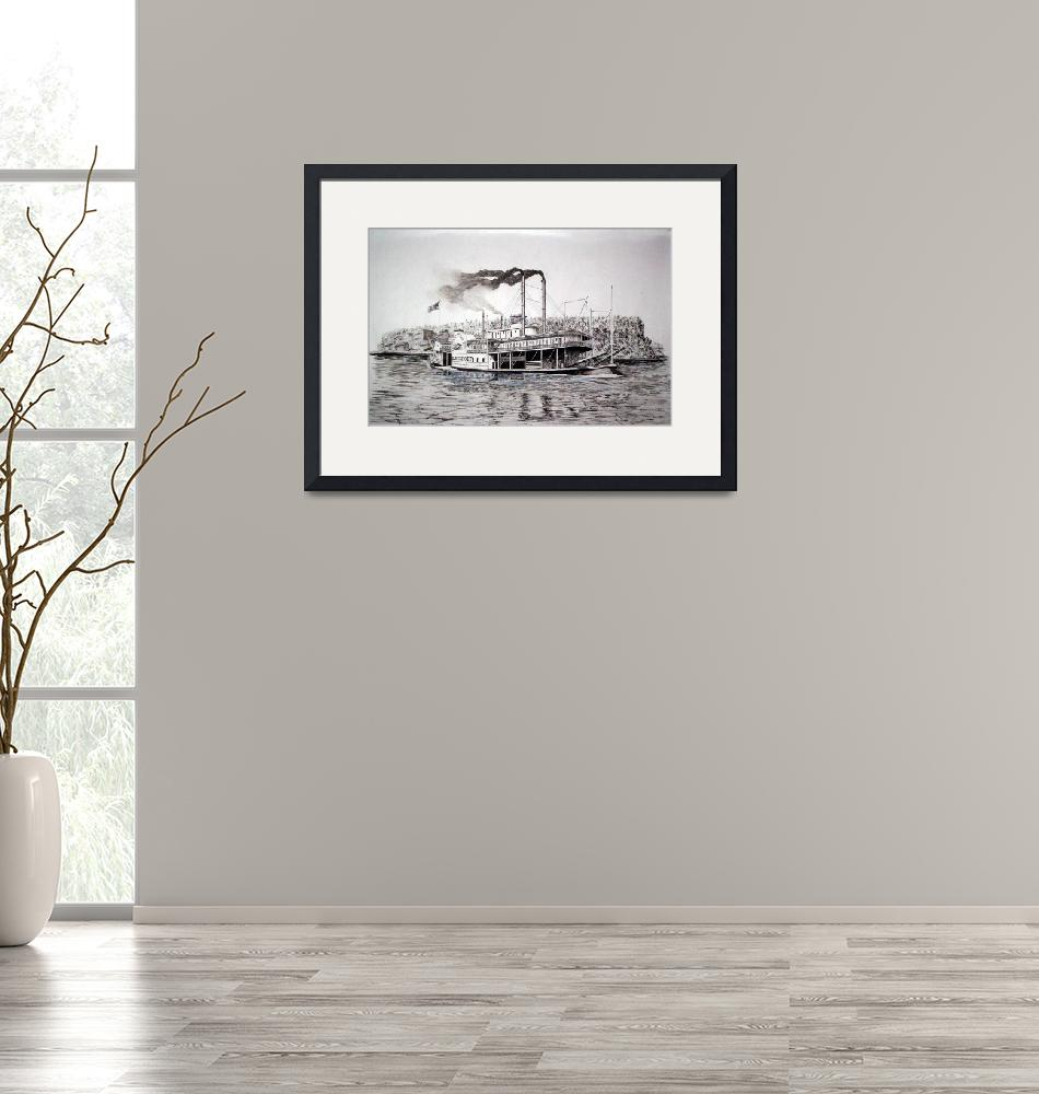 """""""Riverboat Davenport""""  (2010) by RichardHall"""