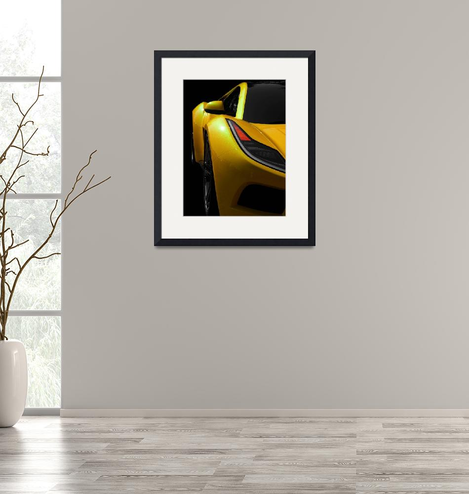 """Yellow Saleen S5S Raptor""  (2008) by JamesHowePhotography"