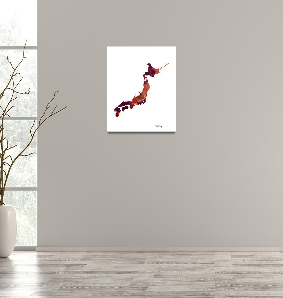"""Japan""  (2015) by k9artgallery"