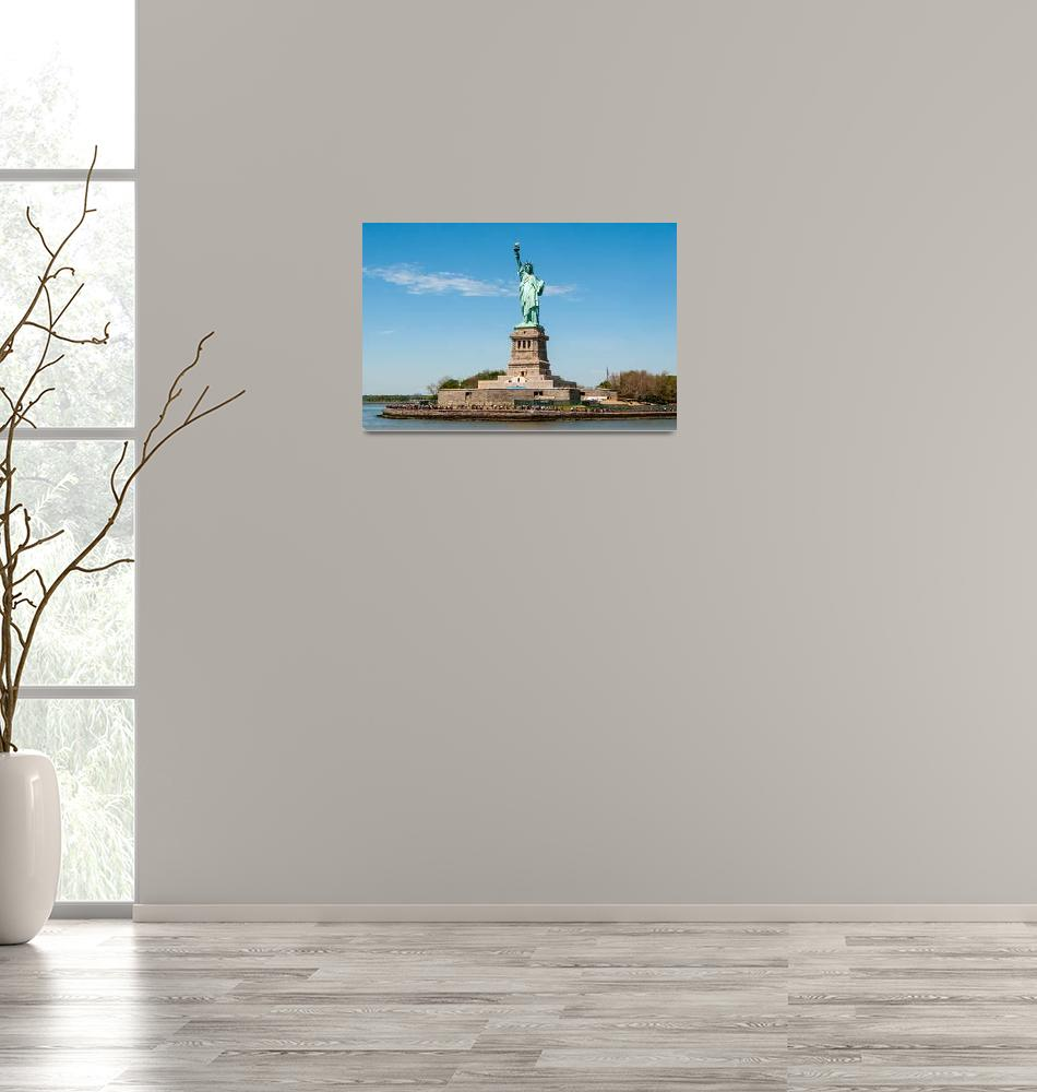 """""""The Statue of Liberty""""  (2012) by photocatphoto"""