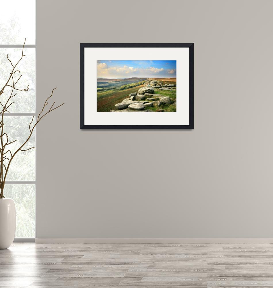 """""""Stanage Edge""""  (2008) by jeg101"""