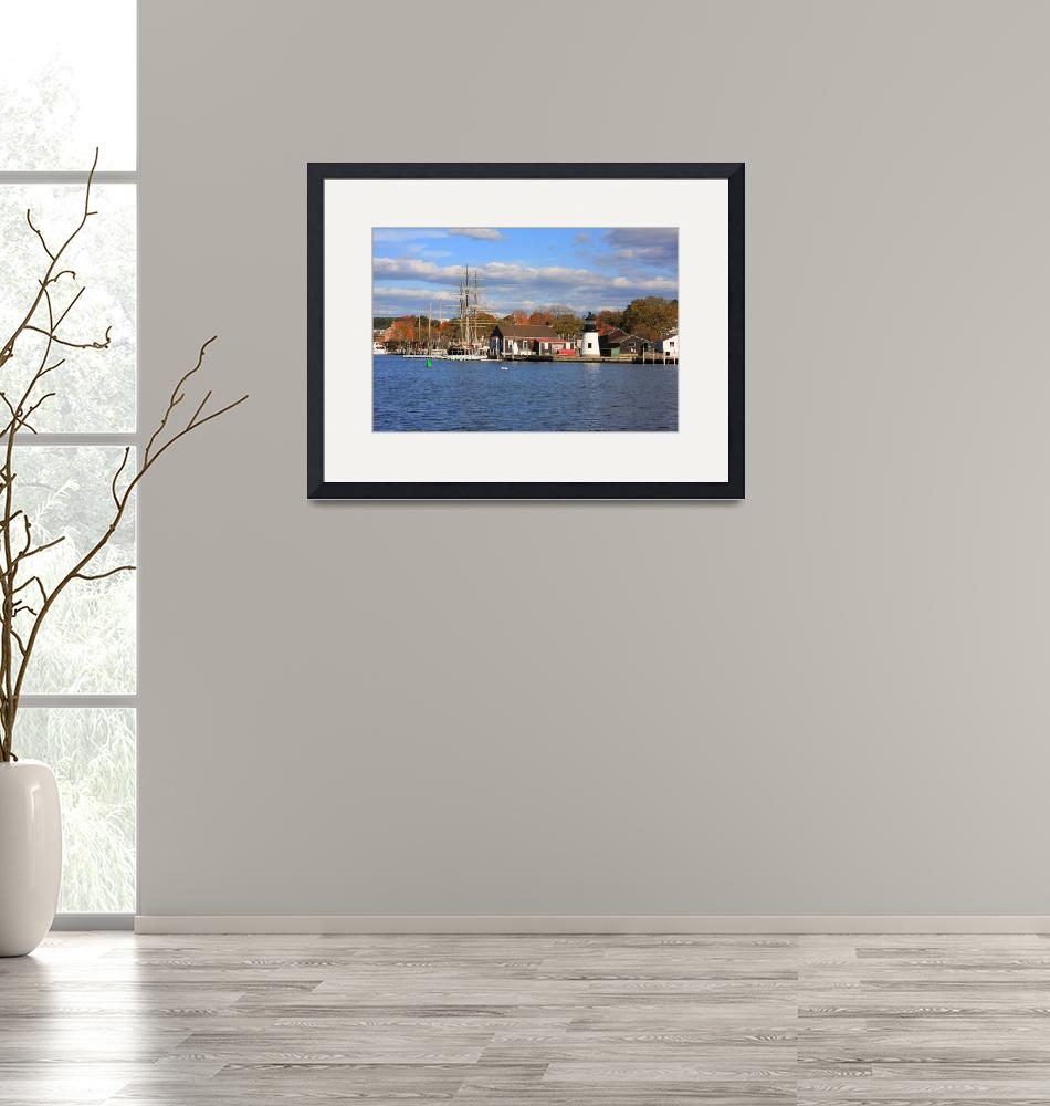 """""""Mystic Seaport-Connecticut"""" (2008) by kenrainwaterphotography"""