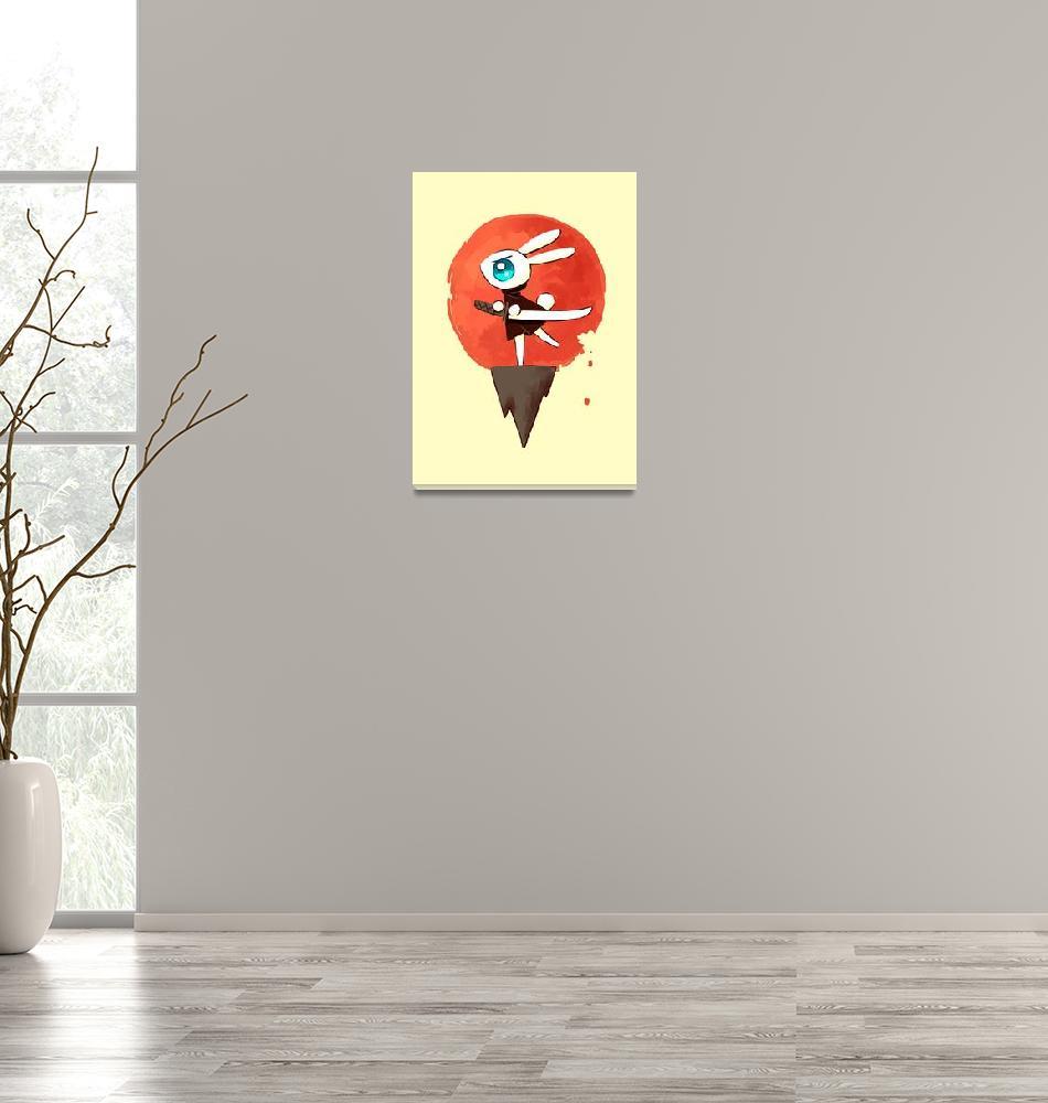 """Samurai Bunny""  (2013) by freeminds"