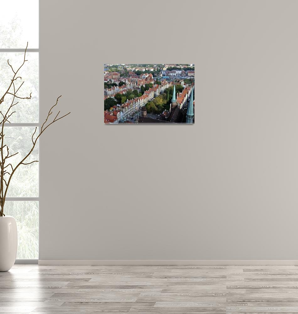 """City of Gdansk, Poland.""  by FernandoBarozza"